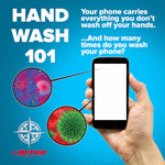 Hand wash 101 poster 13X20