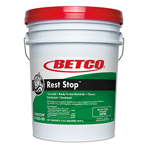 Rest Stop Acid Free Restroom Disinfectant (5 GAL Pail)