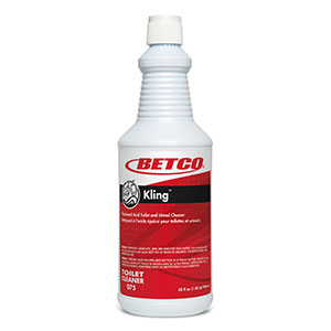 Kling 9% Hcl Thick Bowl Cleaner (12 - 32 oz Bottles)