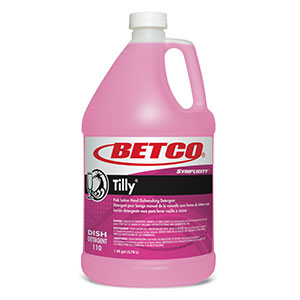 Tilly Hand Dishwashing Detergent (4 - 1 GAL Bottles)
