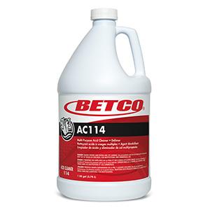 AC114 Acid CleanerDelimer (4 - 1 GAL Bottles)