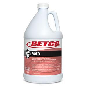 MAD Mild Acid Detergent (4 - 1 GAL Bottles)