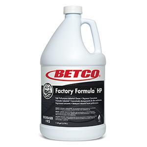 Factory Formula HP Industrial Degreaser (4 - 1 GAL Bottles)