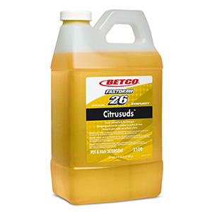 Citrusuds Manual Dishwashing Detergent (4 - 2 L FastDraw)