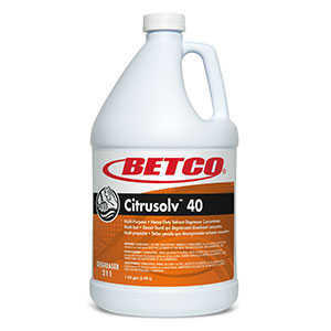 Citrusolv 40 HD Solvent Degreaser (4 - 1 GAL Bottles)