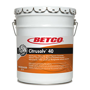 Citrusolv 40 HD Solvent Degreaser (5 GAL Pail)