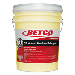 Chlorinated Machine Detergent 125 (5 GAL Pail wFitment)