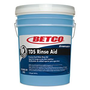TDS Rinse Aid 335 (5 GAL Pail wFitment)