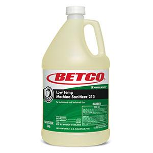 Low Temp Machine Sanitizer 215 (4 - GAL Bottles wFitment)