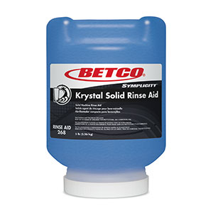 Krystal Solid Rinse Aid (1- 5 Pint Jar)