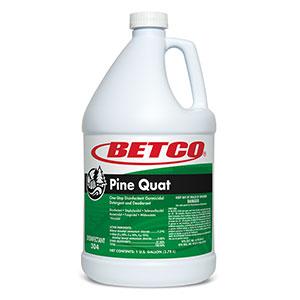 Betco Pine Quat Disinfectant (4 - 1 GAL Bottles)