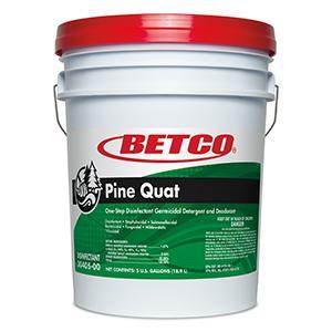 Betco Pine Quat Disinfectant (5 GAL Pail)