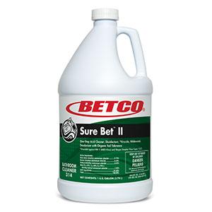 Sure Bet II Foaming Disinfectant (4 - 1 GAL Bottles)