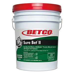 Sure Bet II Foaming Disinfectant (5 GAL Pail)