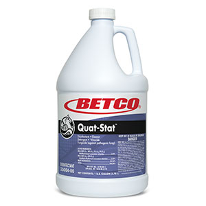 Quat-Stat Disinfectant (4 - 1 GAL Bottles)