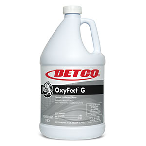 Oxyfect G Peroxide Cleaner Disinfectant (4 - 1 GAL Bottles)