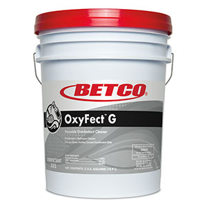 Oxyfect G Peroxide Cleaner Disinfectant (5 GAL Pail)