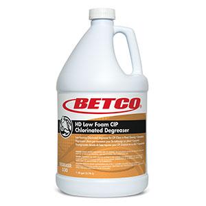 HD Low Foam Cip Chlorinated Degreaser (4 - 1 GAL Bottles)