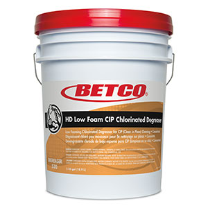 HD Low Foam Cip Chlorinated Degreaser (5 GAL Pail)