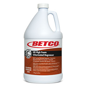 HD High Foam Chlorinated Degreaser (4 - 1 GAL Bottles)