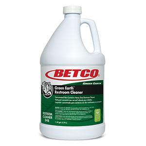 Green Earth Restroom Cleaner (4 - 1 GAL Bottles)