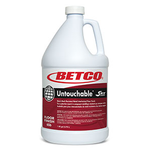 Untouchable With SRT Floor Finish (4 - 1 GAL Bottles)