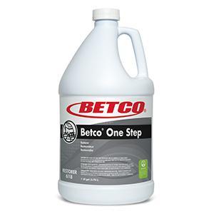 Betco One Step Floor CleanerRestorer (4 - 1 GAL Bottles)