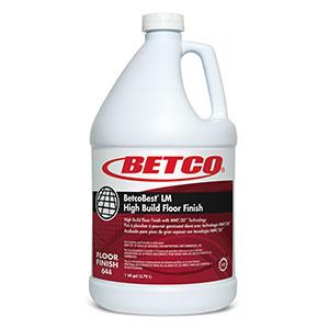 BetcoBest Low Maint Floor Finish (4 - 1 GAL Bottles)