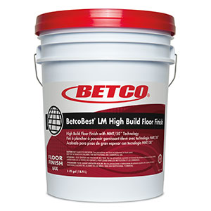 BetcoBest Low Maint Floor Finish (5 GAL Pail)