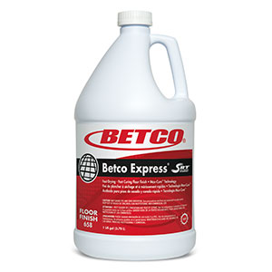 Betco Express With SRT Floor Finish (4 - 1 GAL Bottles)