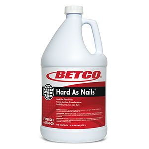 Hard As Nails Floor Finish (4 - 1 GAL Bottles)