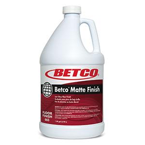 Betco Matte Floor Finish (4 - 1 GAL Bottles)