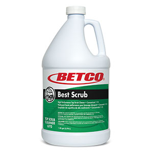 Best Scrub Top Scrub Cleaner (4 - 1 GAL Bottles)