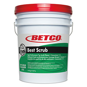 Best Scrub Top Scrub Cleaner (5 GAL Pail)