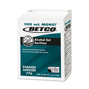 Alcohol Gel Sanitizer (12 - 900 mL BIB)