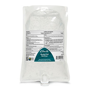 Alcohol Gel Sanitizer (6 - 1000 mL Bags)