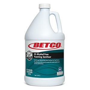 E3 Alcohol Free Foaming Sanitizer (4 - 1 GAL Bottles)