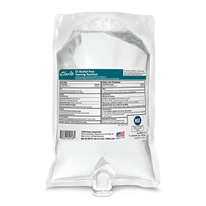 E3 Alcohol Free Foaming Sanitizer (6 - 1000 mL Bags)