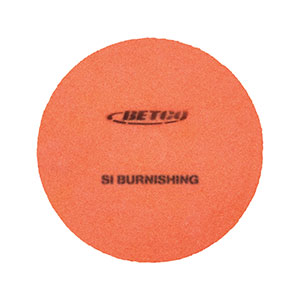 Crete Rx Burnishing Pad, 21, Orange (5case)