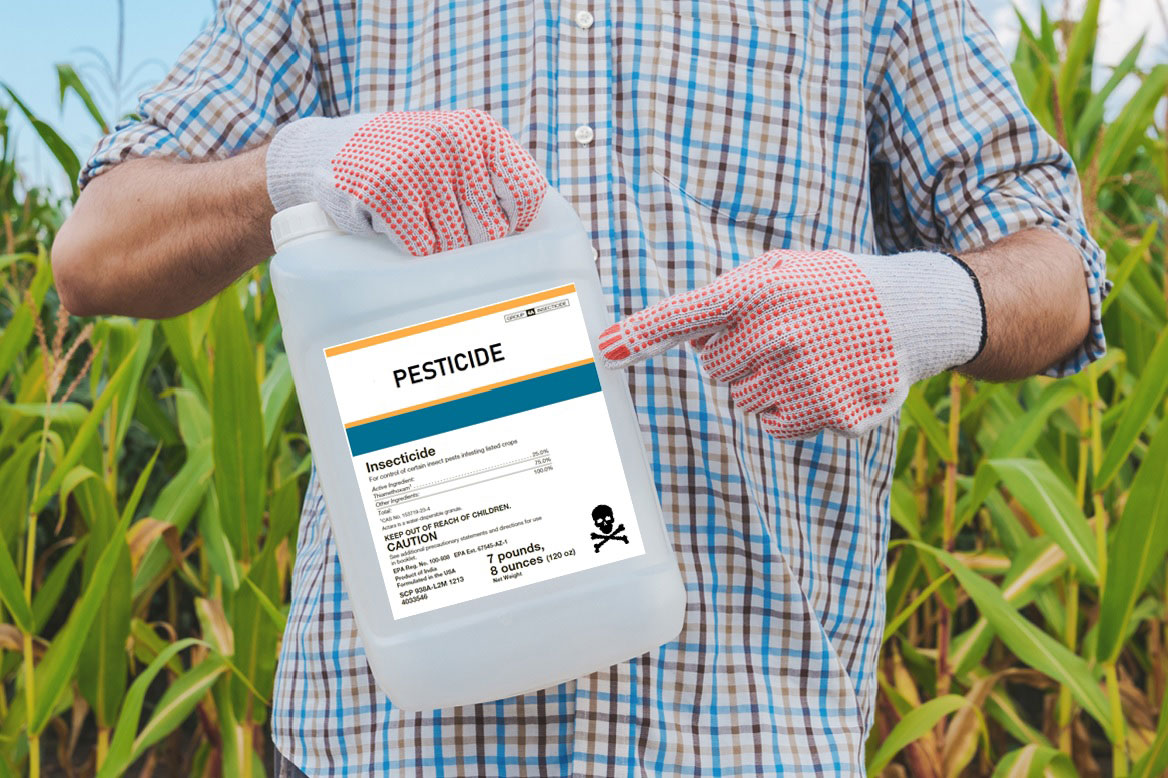 Pesticide-label