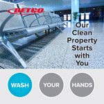 Betco clean property poster